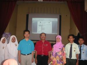 With BP representative